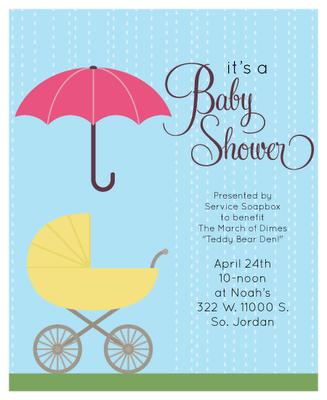 Service Soapbox baby shower