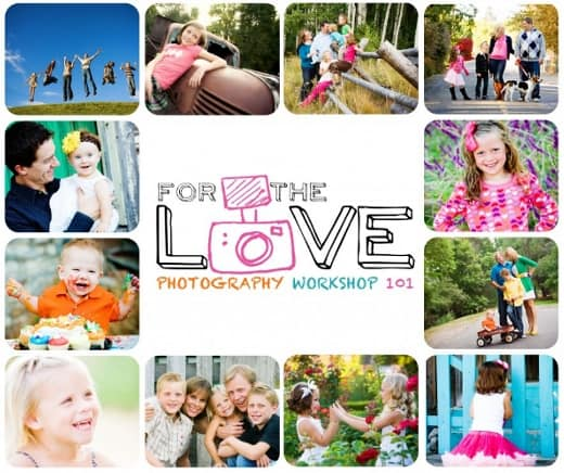 For the Love photography workshop