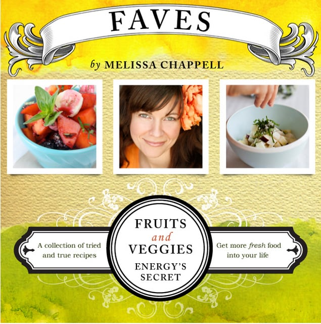Melissa Chappell Faves cookbook
