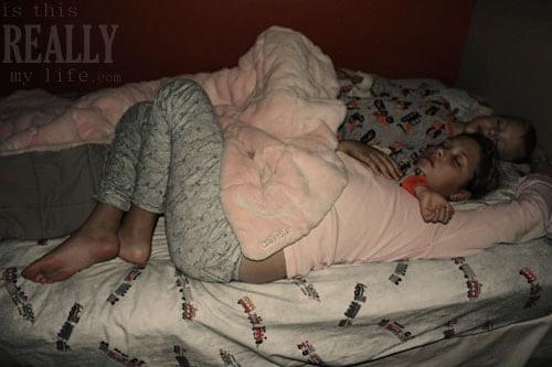 kids sleeping