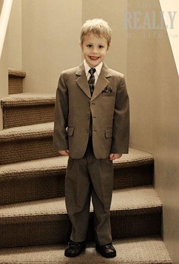 boys dress suit