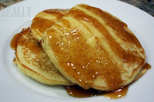 pancakes & buttermilk syrup
