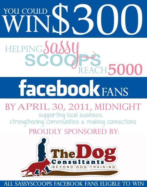 SassyScoops Facebook contest