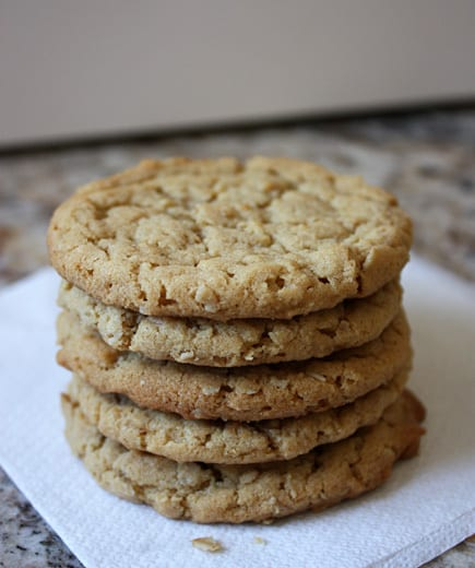 oatmeal peanut butter cookie