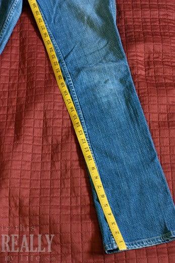 measuring jeans inseam