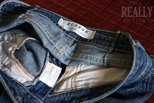 Hudson jeans tags