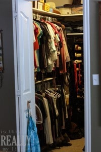 find clothes in the closet to sell on ebay