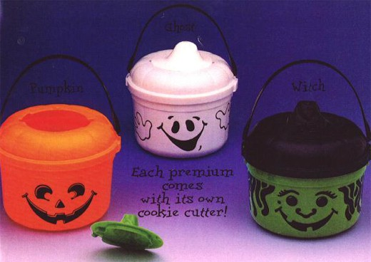 1992 Halloween HappyMeal Pails