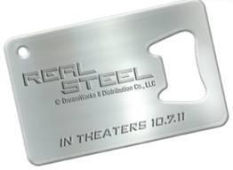 DreamWorks Real Steel bottle opener