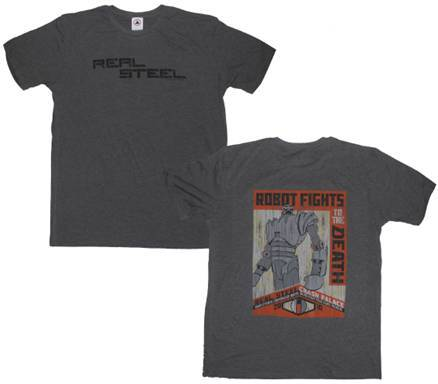 Dreamworks Real Steel t-shirt