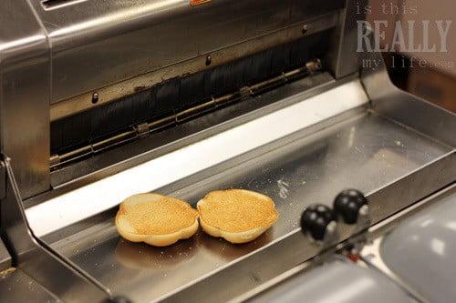 McDonald's bun toaster