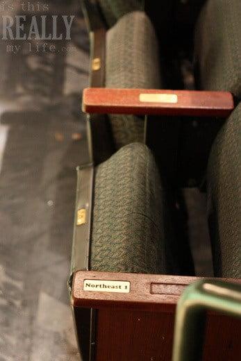 Hale Centre Theatre seats