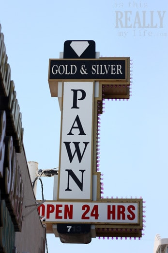 Las Vegas Pawn Stars sign