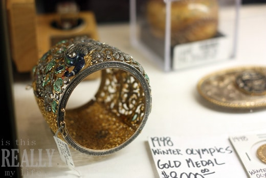 Pawn Stars gold peacock ring
