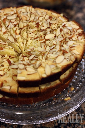 The Gathering of Friends almond cake