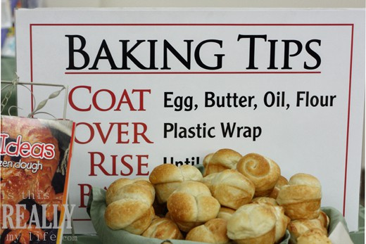 Rhodes baking tips