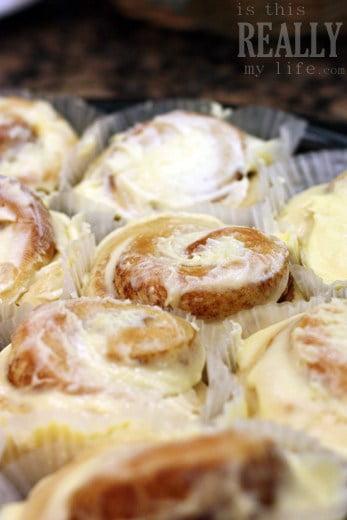 Rhodes cinnamon rolls