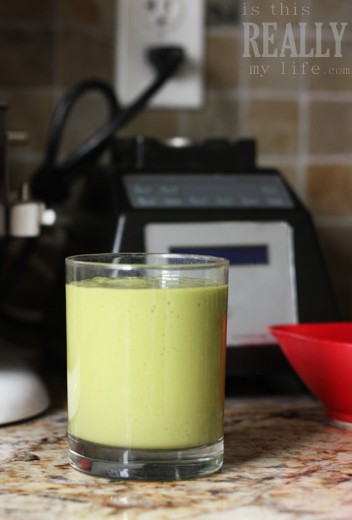 festival fruit green smoothie