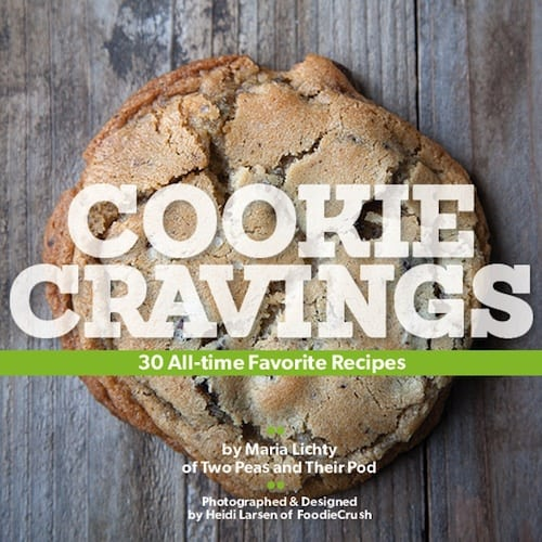 Two Peas and Their Pod Cookie Cravings cookbook