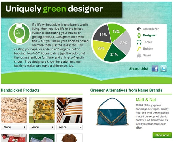 eBay Green Earth Day quiz