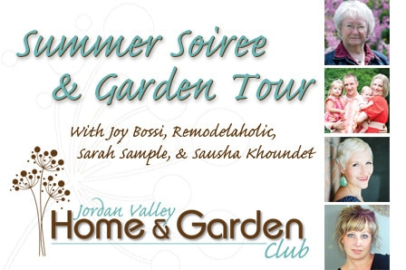 Jordan Valley Home & Garden Club summer soiree