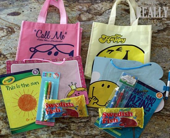 road trip kids goody bags