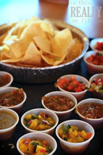 Costa Vida chips salsa