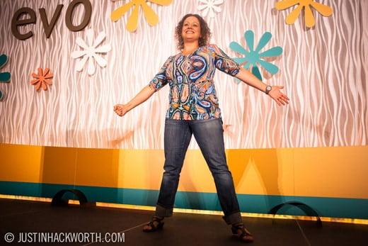 Jenny Eckton EVO conference