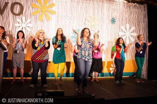 EVO Conference flash mob