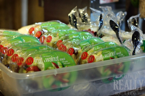 McDonalds Fruit & walnut salad