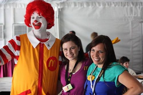 Ronald McDonald McDonalds EVO