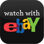 Watch With eBay iPad app