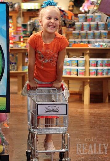 Blickenstaffs mini shopping cart