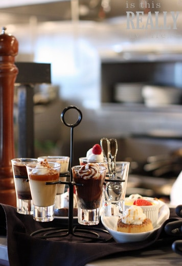 Brio Tuscan Grille Dolchino dessert sampler