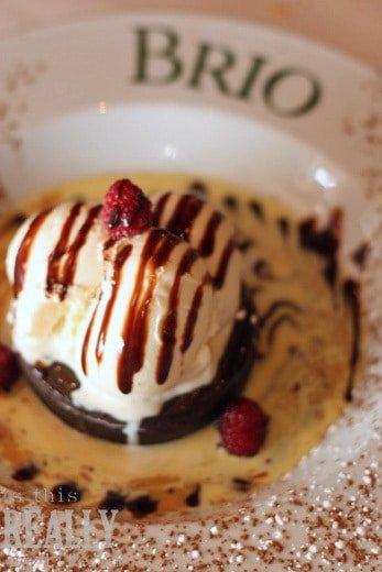 Brio Tuscan Grille dessert Torta di Cioccolata