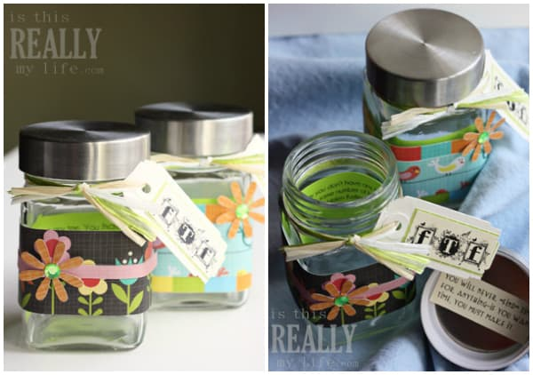 back-to-school glass jar pencil holder craft