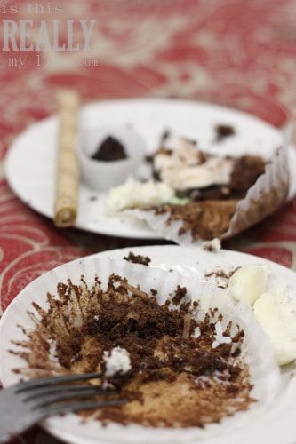 One Sweet Slice cupcakes