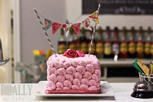 One Sweet Slice custom cakes