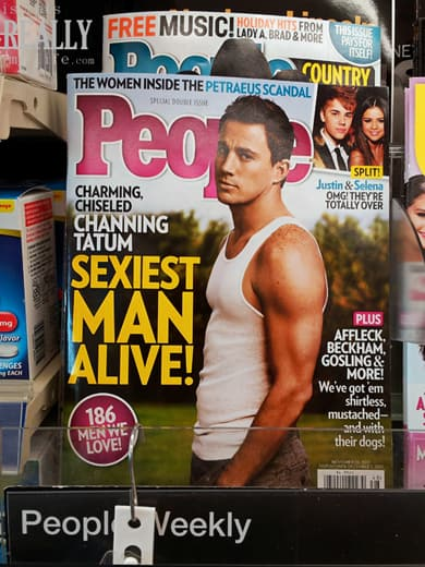Channing Tatum PEOPLE Magazine's Sexiest Man Alive
