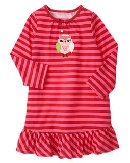 Gymboree owl nightgown