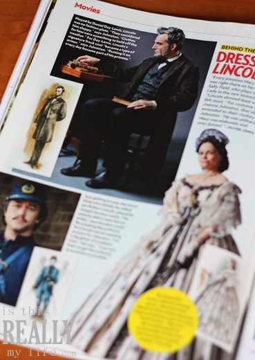 PEOPLE Magazine Lincoln movie
