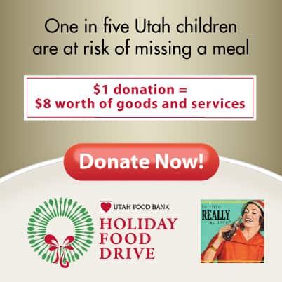 Utah Food Bank virtual food drive