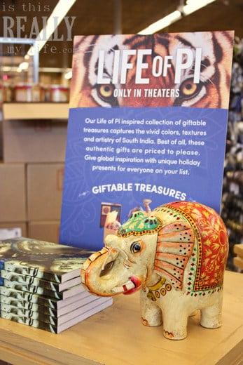World Market Life of Pi Indian elephant bank