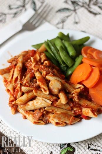 Diet-to-Go penne pasta