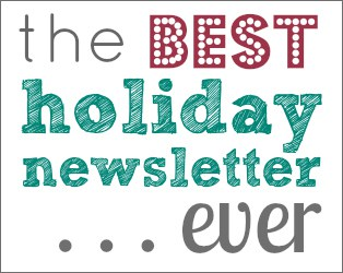 The best holiday newsletter ever