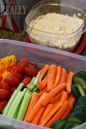 Rubbermaid southwestern vegetable dip