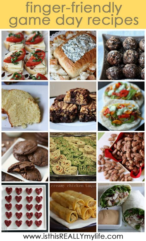 Super bowl recipes (finger foods)