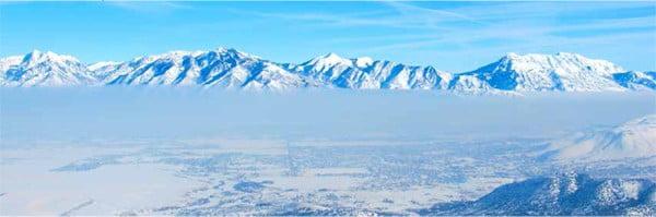 Utah inversion (photo from Kennecott)