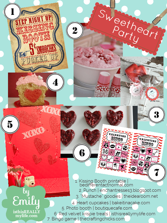 The Inspiration Board Valentine's Party