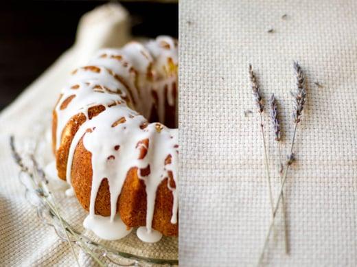 Almond Lavender Cake from FOLK magazine